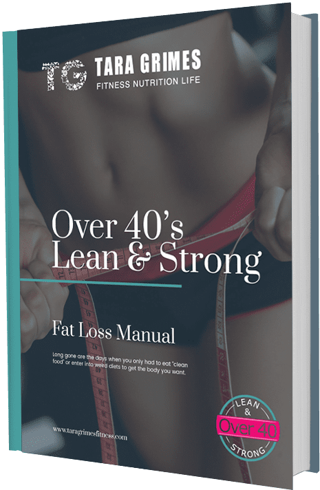 The over 40's lean and strong fat loss manual cover