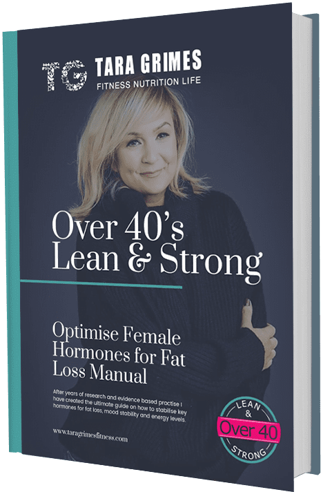Cover of the Over 40's Female Hormones and Fat Loss Manual
