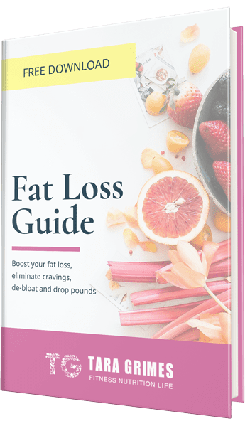 Cover image of the Free Fat Loss Guide by Tara Grimes